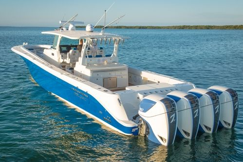 24 best saltwater fishing boats images on pinterest for Best outboard motor for saltwater