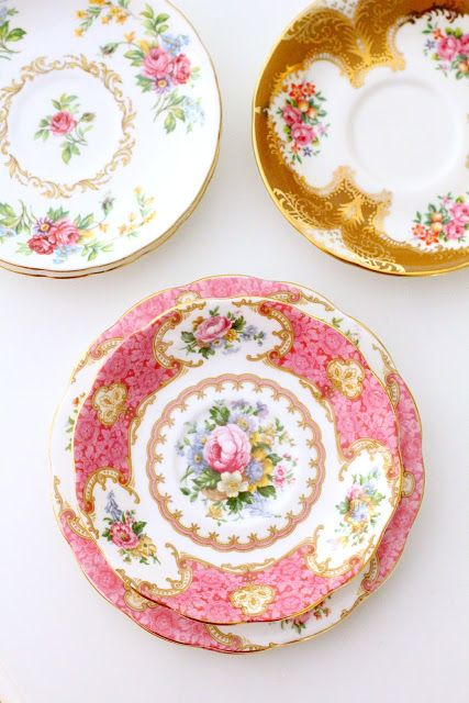 Love the pink Lady Carlyle by Royal Albert!