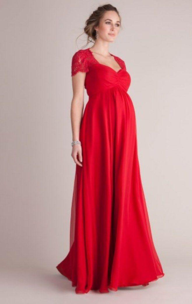 Belle robe de soiree pour femme enceinte