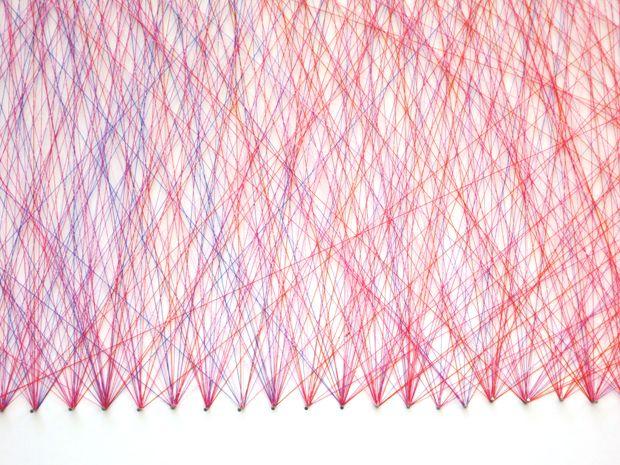 String art: Dominique Falla