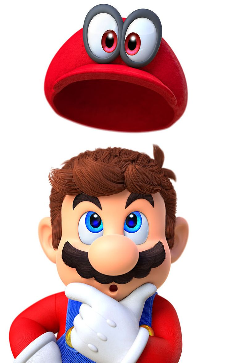 Look at how detailed Mario's hair is omg