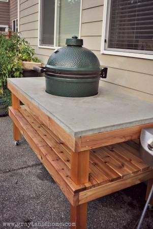 1000 Ideas About Grill Table On Pinterest Outdoor