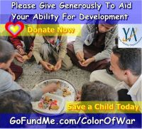 Please donate generously to Your Ability Organization's Go Fund Me page. One hundred percent (100%) of your donations go directly to the Your Ability and Mona Relief Organization's bank accounts; in turn, all the funds they receive are used to purchase essential supplies for orphanages, hospitals and poverty-stricken families. There are no middleman fees taken out of your donation, except for the small percentage the Go Fund Me company shaves off for their fee, and best of all, your money…