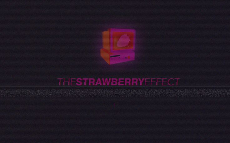 The Strawberry Effect | VHS Style Cover GIF / NYC W34 Hudson River High Line + / ITU Diploma Project by Meric Arslanoglu | 2015