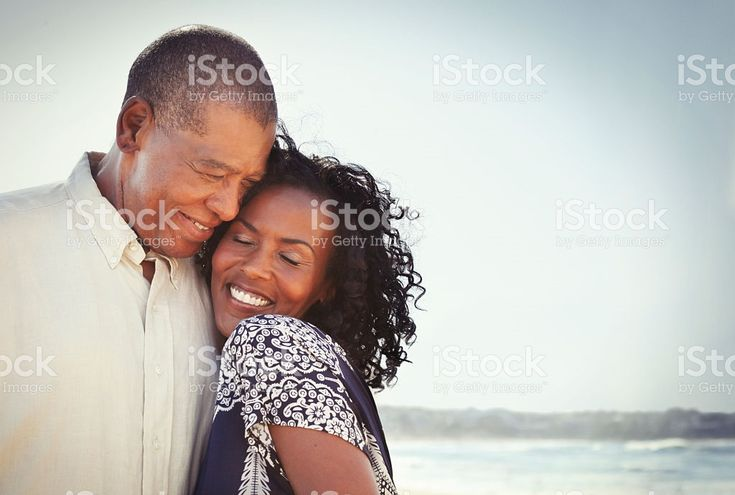 African american mature couple together royalty-free stock photo