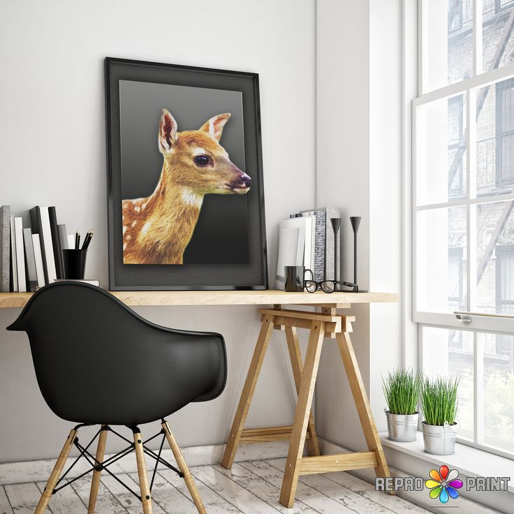 Woodlands Nursery Decor, Baby Deer Print, Fawn Wall Art, Modern Minimalist Nursery Art, Woodlands Baby Deer Fawn, Printable Digital Download