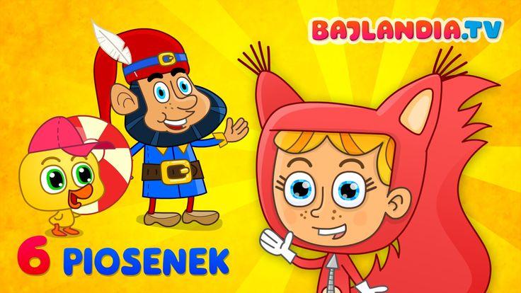 Kaczuszki - zestaw piosenek dla dzieci od bajlandia.tv