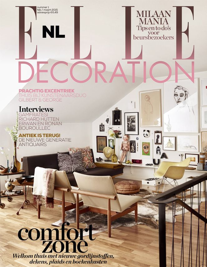 Cover 1-2015 | ELLE Decoration