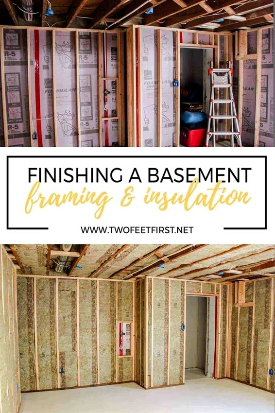 framing a basement wall against concrete or cinderblock is not as rh pinterest com framing a basement wall against concrete Basement Stud Wall Over Concrete