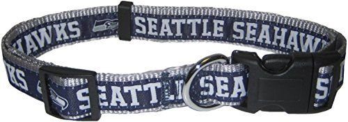 Pets First NFL Seattle Seahawks Pet Collar Small -- Find out more about the great product at the image link.