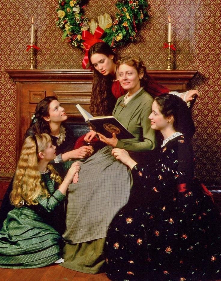 """Película """"Little Women"""", con Louisa May Alcott, Susan Sarandon, Winona Ryder, kirsten Dunts ,Claire Danes y Trini Alvarado"""
