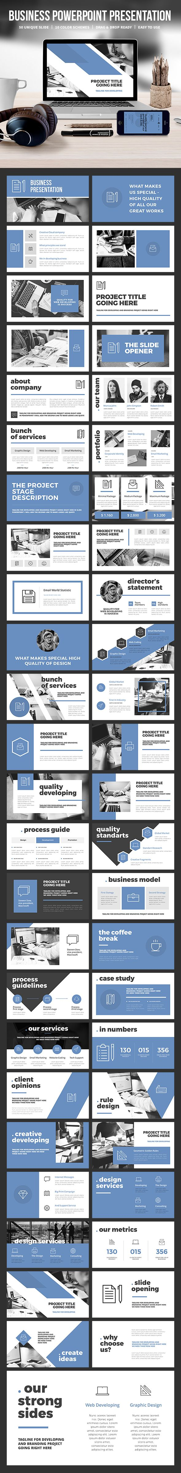 Business Powerpoint Template 119 best Proposal Deck