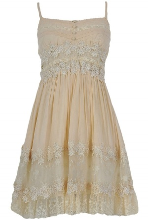 OMGosh, this store has the cutest dreses an clothes all around, great prices too!! Juliet Beige Dress