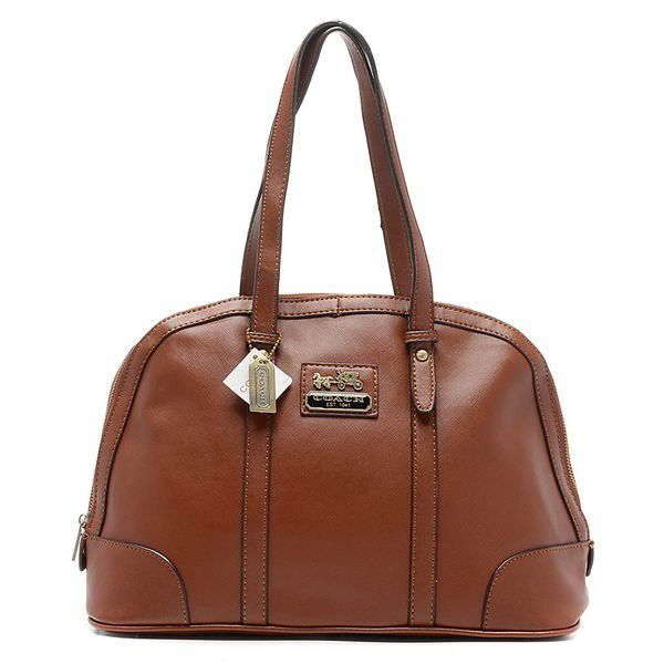 Coach Bleecker Bistro Large Brown Satchels AOF Give You The Best feeling!
