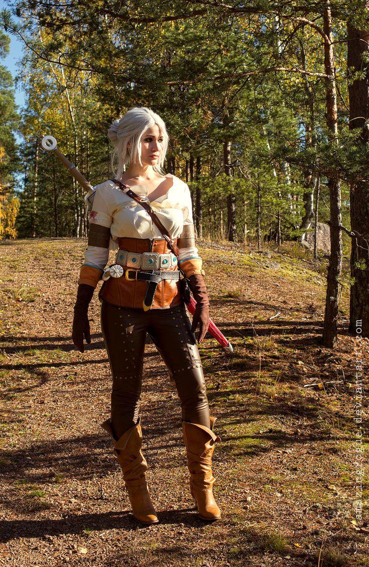 The Witcher 3: Wild Hunt, Cirilla by AmazingRogue.deviantart.com on @DeviantArt