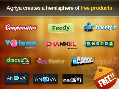 Agriya always do best for their Customers,to Prove it again Agriya announced their most eminent 13 product as free of cost. Hurry up!! Excellent Profit Making Scripts Are Waiting for You.