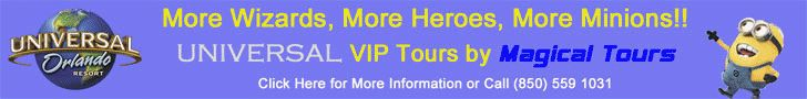 Universal Orlando & Walt Disney World VIP Vacation Packages & Tours