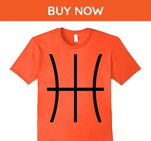 Mens Basketball Costume Jersey Shirt A Basketball Graphic Tee  XL Orange - Sports shirts (*Amazon Partner-Link)