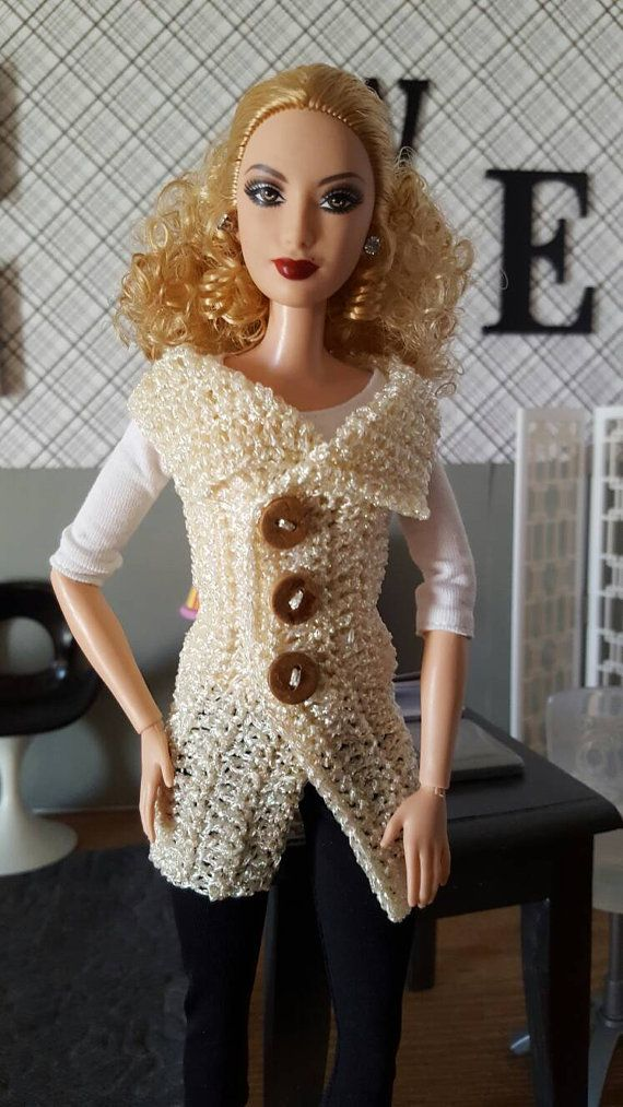 Sweater Vest for Barbie