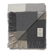 #Avoca Cashmere Blend Rome Throw - Grey - 142 x #The Avoca Cashmere Blend Rome Throw, in neutral grey hues, is crafted from a luxurious blend of cashmere and pure new wool. Woven in Ireland, the super soft throw is lightweight yet sumptuously warm and will add a welcoming layer to a bed or sofa and can be used as a soft and snug picnic blanket. With a subtle herringbone weave and quadrant design, the Rome™ throw is finished with a fringed edging. Features: Avoca Cashmere Blend Rome Throw…