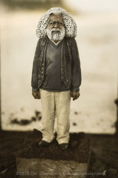 """Photos by Des Thureson Alternate Processing: """"Aged Photo"""" - Uncle Jack Charles, Significantly Small 2013, Leonie Rhodes - #Swell2013"""