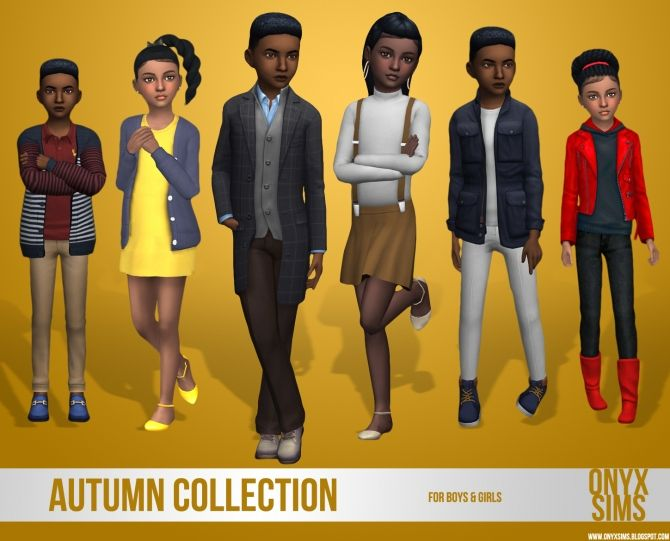 Kid's Autumn Collection 2016 at Onyx Sims • Sims 4 Updates