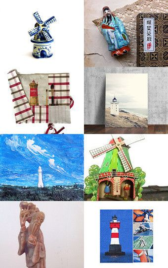 windmills lighthouses and emperors by Stuart McWilliam on Etsy--Pinned with TreasuryPin.com
