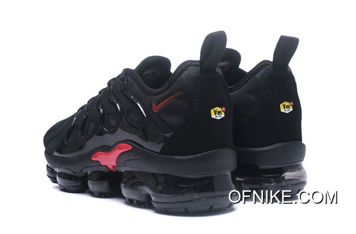 Nike Air VaporMax TN Black Red New Style, Price: $95.18 - Air max ...