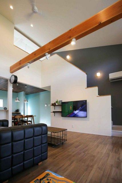 【平屋と二階建てのいいとこ取りの家】つくば市 Nicoの家 株式会社カイテキホーム