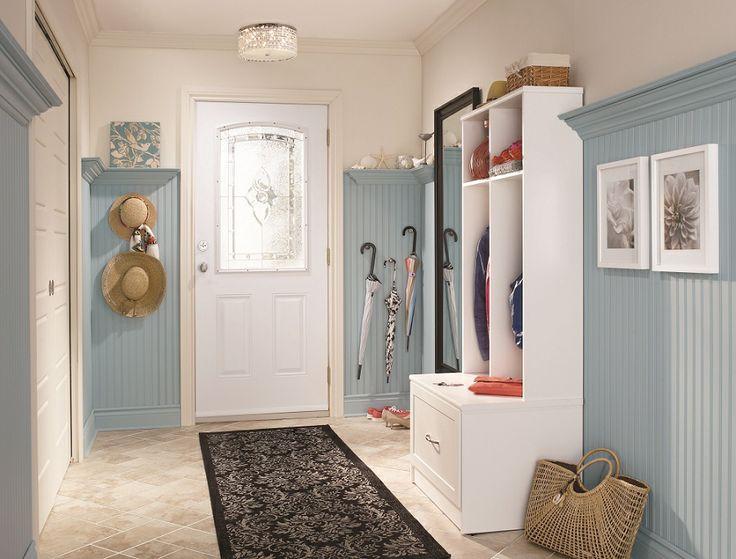 #Organize your #entryway with style!   Rangez votre entrée avec style! #storage #rangement #entree