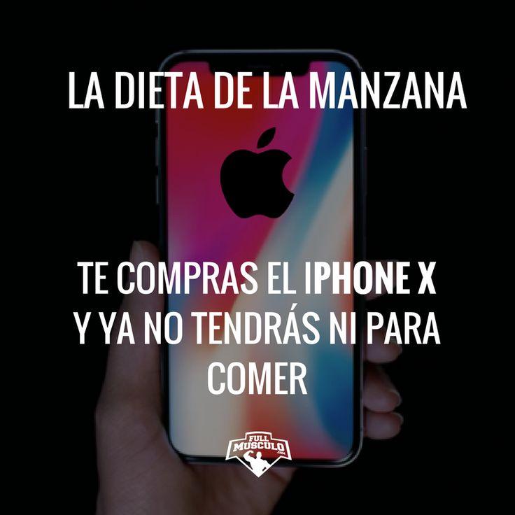 La dieta de la manzana si que funciona para bajar de peso #loseweight #weightloss #apple #iphonex #iphone #meme #bodybuilding #fitness #fullmusculo