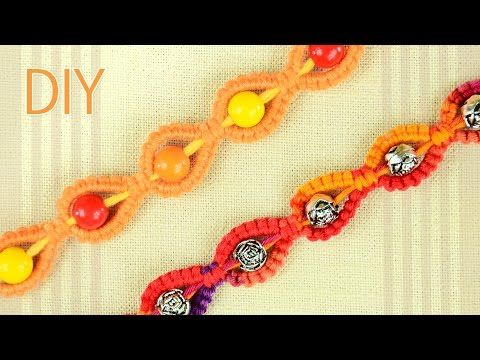 M DIY - Sunny Bracelet for a Sunny Day - Easy Tutorial - YouTube