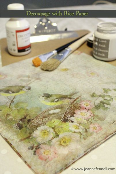 Decoupage Course, Craft Courses Online, Chalk Paint, Stencilling