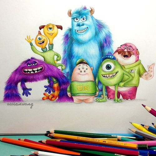Original Artwork (by vivianhitsugaya or colour-to-inspire :me) Instagram: http://www.instagram.com/vivianhitsugaya