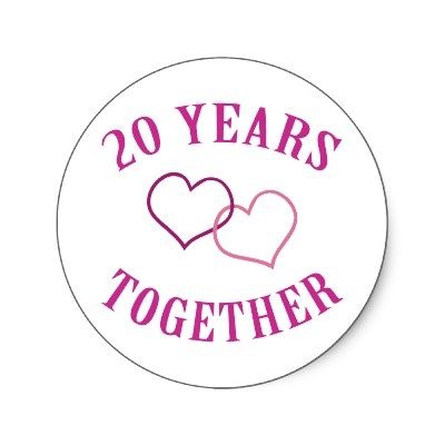 Hy Anniversary 20 Years Of Love And Hiness Started 1 6 93