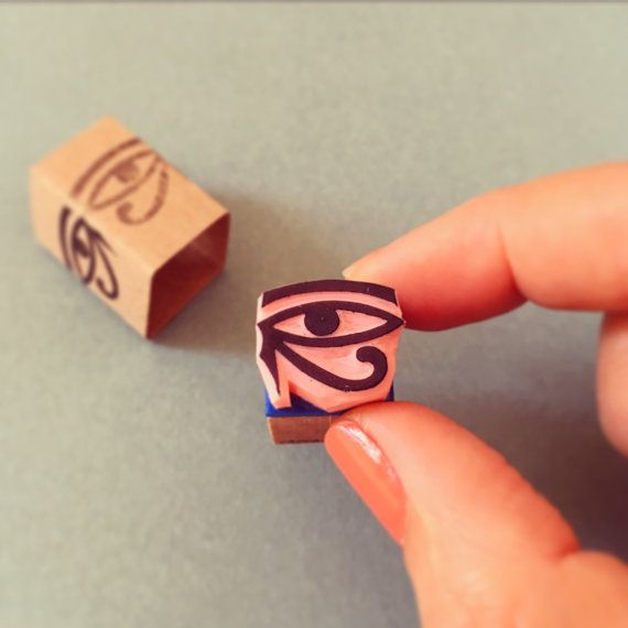 Hey, I found this really awesome Etsy listing at https://www.etsy.com/listing/191439652/eye-of-ra-stamp-hand-carved-mini-rubber