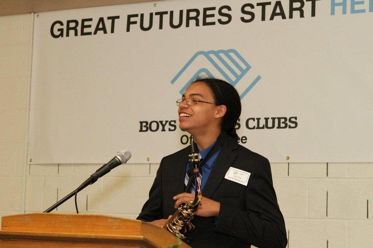 2012 Youth of the Year, Edgar Gray