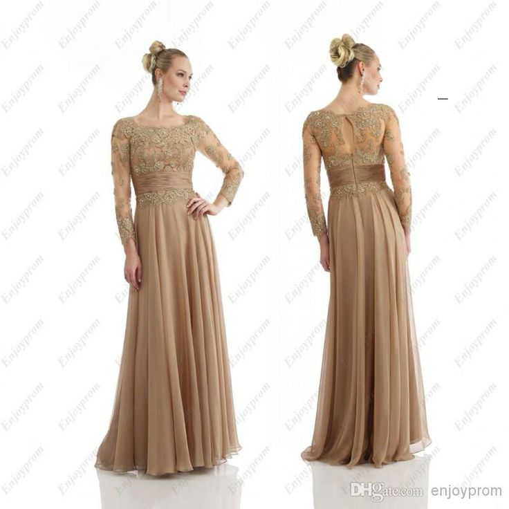 Gold Mother of the Bride Dress this is amazing!