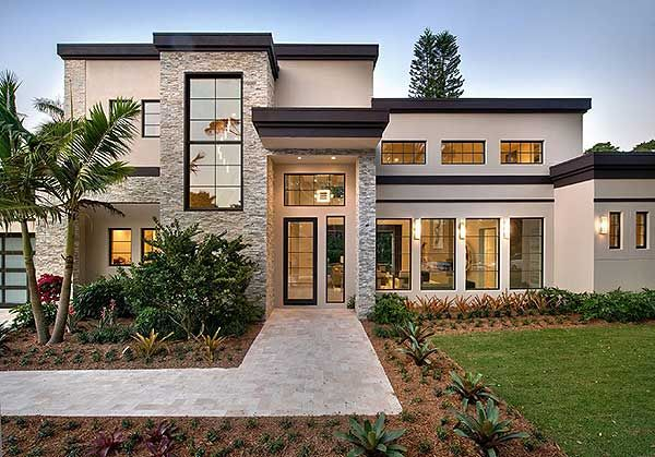 Modern Masterpiece - 31836DN | European, Florida, Mediterranean, Modern, Luxury, Photo Gallery, 1st Floor Master Suite, 2nd Floor Master Suite, Butler Walk-in Pantry, CAD Available, Den-Office-Library-Study, Elevator, Loft, PDF | Architectural Designs                                                                                                                                                                                 More