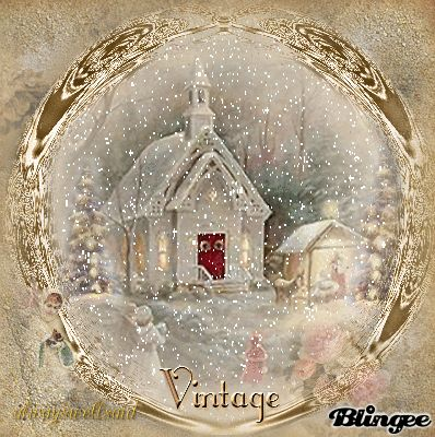 timy snow globes | Little Church Snow Globe Picture #133653082 | Blingee.com
