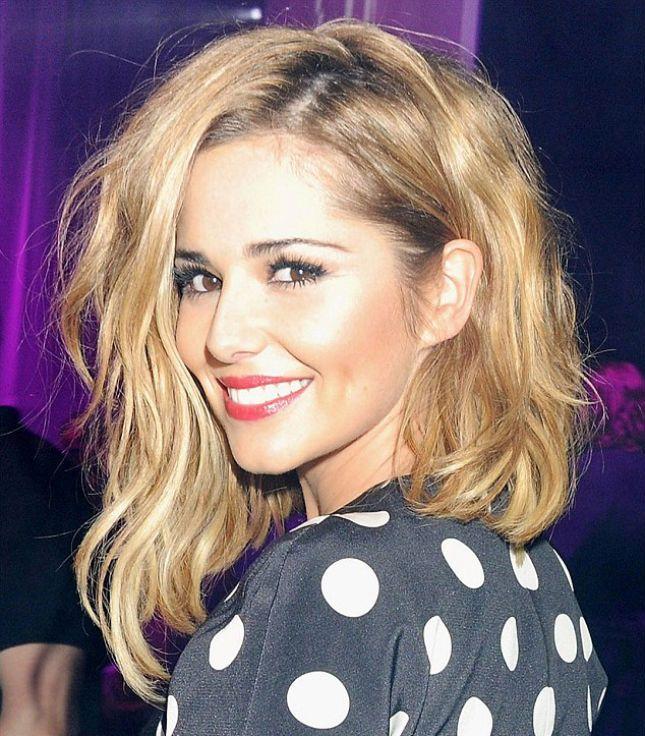 16 Asymmetrical Celeb Cuts to Inspire Your Next Salon Visit via Brit + Co. | LOVE the Cheryl Cole one