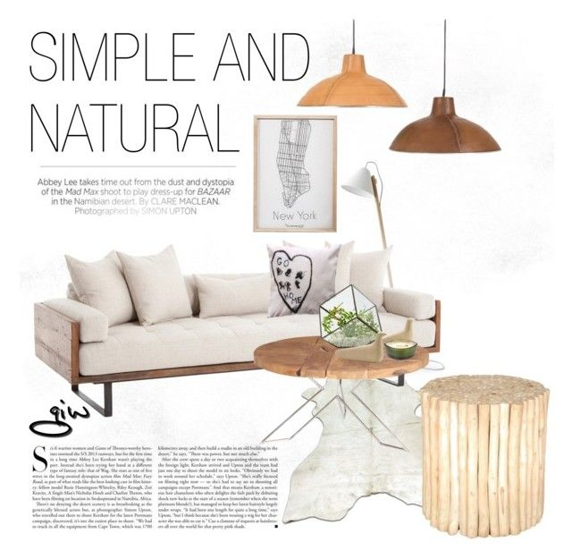 """""""simple & natural..."""" by ian-giw ❤ liked on Polyvore featuring interior, interiors, interior design, home, home decor, interior decorating, Kershaw, Sandro, 3R Studios and Henzel Studio"""