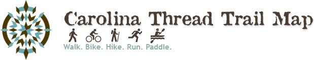 Carolina Thread Trail Map- interactive trail-finding map. Full of awesome!