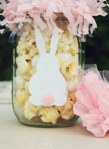 Bunny Munch Mason Jars