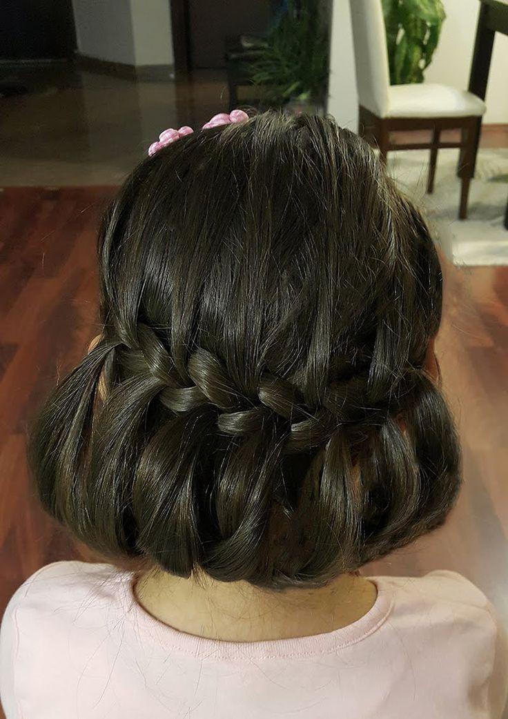 Saç Modeli 12 - Örgülü değişik saç modeli, Different braided hairstyle /...