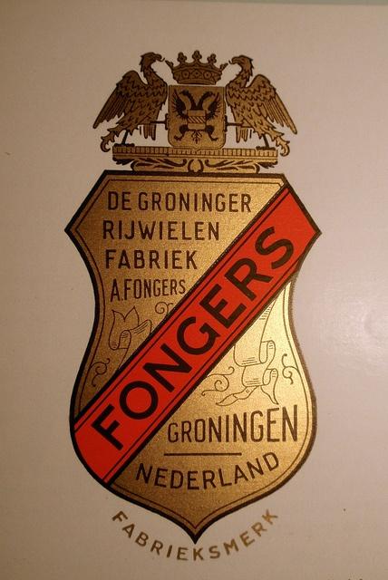 Fongers fietsen Groningen.