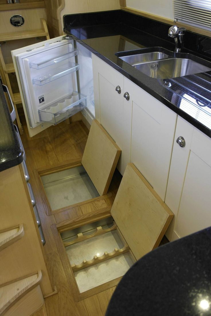 Love The Floor Storage Idea