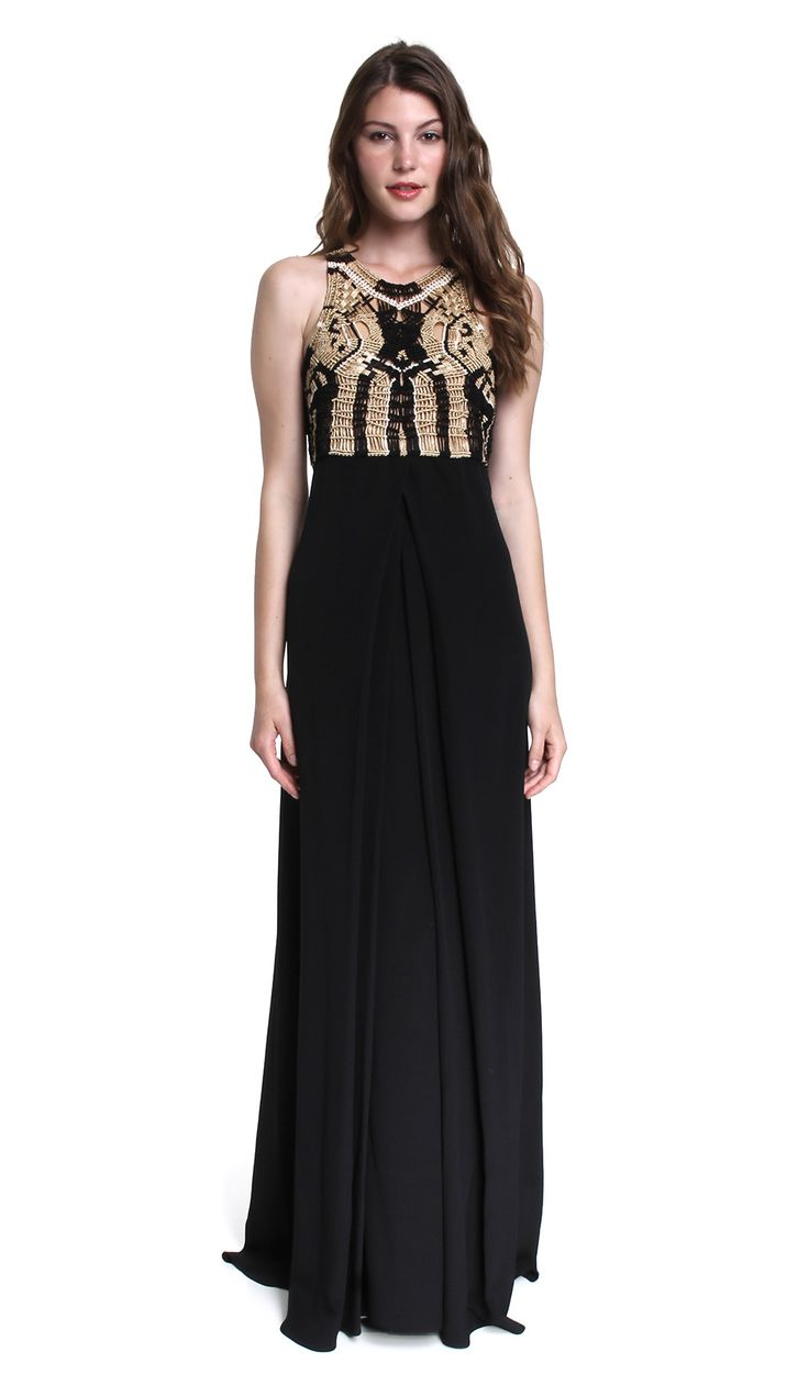 11 best black tie images on pinterest black clothes prom gowns if youre looking to hire the perfect party ready floor length gown well look no further this amazing diane von furstenberg gown combines a macram to ombrellifo Images