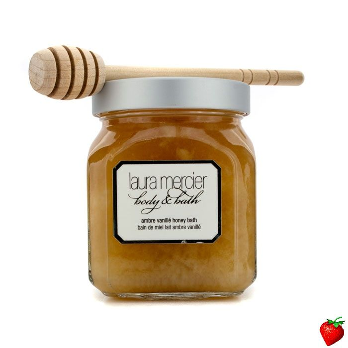 Laura Mercier Ambre Vanille Honey Bath 300g/12oz #LauraMercier #Skincare #HoneyBath #Valentines #FREEShipping #StrawberryNET #GiftIdeas #Giveaway