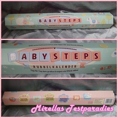 Der BabySteps Rubbelkalender für die Schwangerschaft von der Splash Brands GmbH.